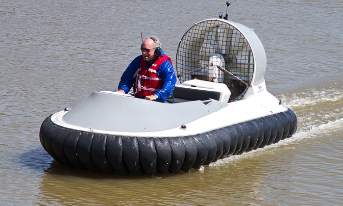 Foxhall Resort & Sporting Club - Foxhall: 30- or 60-Minute Hovercraft Experience for Two or Four at Foxhall Resort & Sporting (Up to 71% Off)