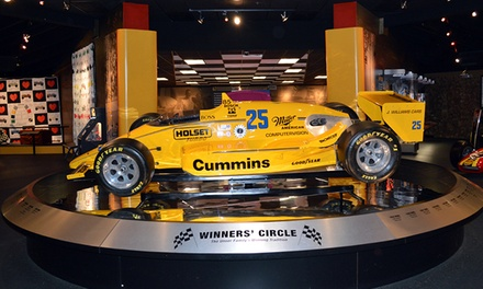 Visit for Two or Four Adults at Unser Racing Museum (Up 52% Off)