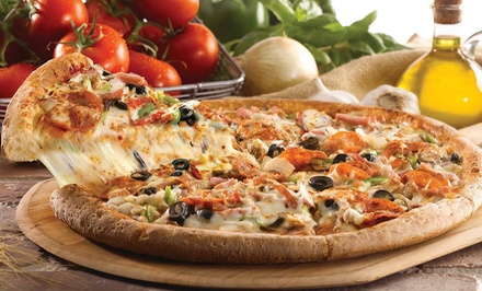 $15 for a Large Pizza, Soda & IT'S-IT Ice Cream at Papa John's Pizza (Up to $29.47 Value)