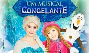 """Mosquito Produções: """"Um musical Congelante"""" - Shopping Barra Square: ingresso individual"""