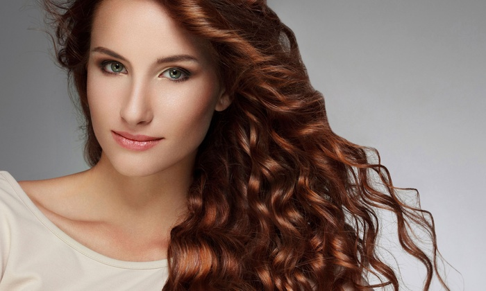 Hair We Are - Mission: Haircut and Color Packages at Hair We Are (Up to 55% Off). Three Options Available.