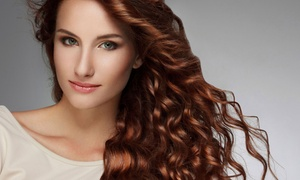 Hair We Are: Haircut and Color Packages at Hair We Are (Up to 55% Off). Three Options Available.