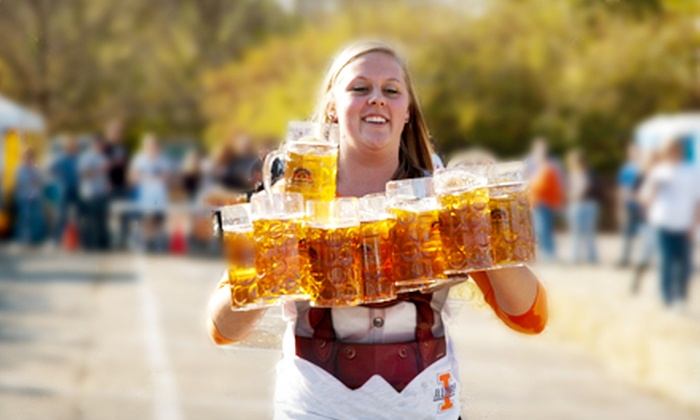 German Society of Rockford - Loves Park City Hall: Regular Entry for One or Two, or VIP Entry for One at German Society Oktoberfest (Half Off)