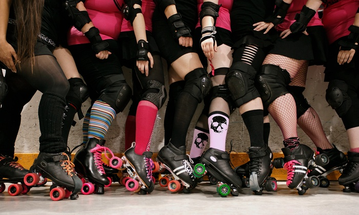 E-Ville Roller Derby - Edmonton Sports Dome: $15 for Two Tickets to an E-Ville Roller Derby Bout at Edmonton Sports Dome on March 28 ($30 Value)