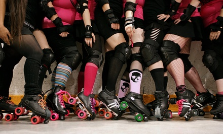 $15 for Two Tickets to an E-Ville Roller Derby Bout at Edmonton Sports Dome on March 28 ($30 Value)