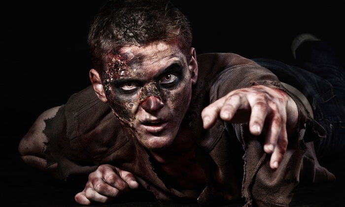 Millers Thrillers Zombie Paintball Hayride and Haunted Woods - 11: $13.50 for One Paintball Slash Pass at Millers Thrillers Zombie Paintball Hayride and Haunted Woods ($25 Value)