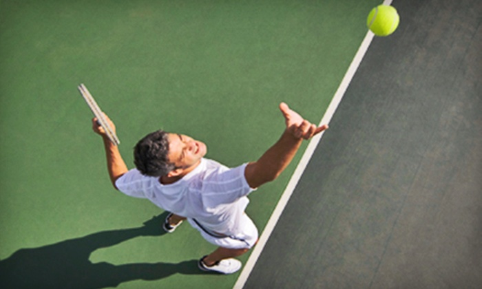 Drop Shot Tennis - Multiple Locations: One or Three 60-Minute Private Tennis Lessons at Drop Shot Tennis (Up to 51% Off)
