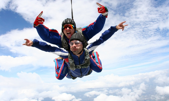 Skydive Kentucky - Elizabethtown: Tandem Skydive for One or Two from Skydive Kentucky (Up to 22% Off). Four Options Available.