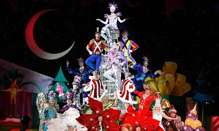 "Cirque Dreams Holidaze - Tower Theatre: Cirque Dreams' ""Holidaze"" at Tower Theatre on December 14 or 15 (Up to 51% Off). 11 Options Available."