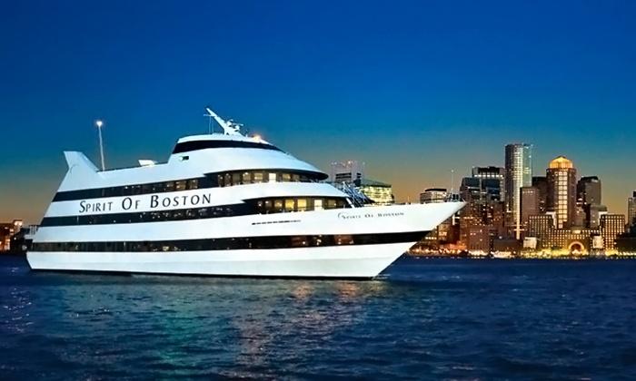"Spirit of Boston - Seaport World Trade Center: Dinner Cruise aboard ""Spirit of Boston,"" Valid Sunday–Wednesday, or Thursday-Saturday (Up to 40% Off)"