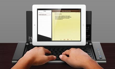 iHome iDM5 Wireless Bluetooth Keyboard Dockwith Built in Speakers