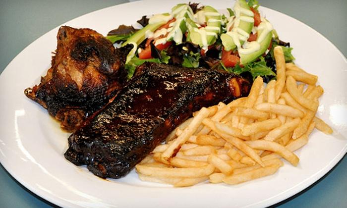 Carlito's Chicken - Shasta Hanchette Park: Latin American Cuisine at Carlito's Chicken (Half Off). Two Options Available.