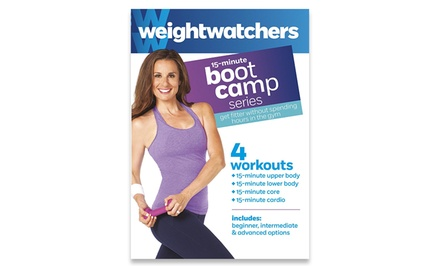 Weight Watchers 15-Minute Boot Camp Series DVD