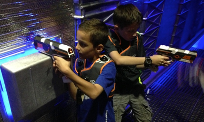 Command Deck - East Bay: One-Hour Laser Tag Campaign for Two, Four, Six, or Eight at Command Deck (Up to 53% Off)