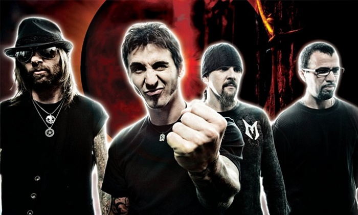 Godsmack - First Merit Bank Event Park across from The Dow Event Center: Godsmack at First Merit Bank Event Park across from The Dow Event Center on Friday, May 15 (Up to 47% Off)