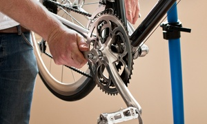 The Bicycle Clinic: All-Day Beach-Cruiser Rental for One or Two or Bicycle Tune-Up at The Bicycle Clinic (Up to 63% Off)