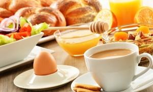 Expresso Bäckerei & Cafe GmbH: All-you-can-eat Brunch-Buffet mit Getränken satt für 2 oder 4 bei Expresso Bäckerei und Cafe GmbH (bis zu 53% sparen*)