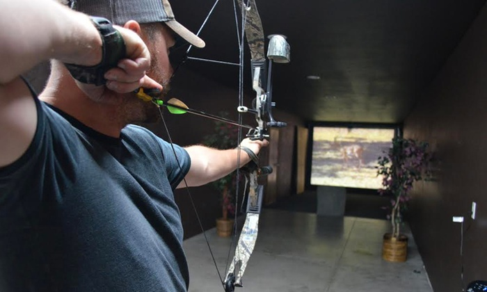 Dead-On Archery - Meridian: One-Hour Dart-Hunting Simulator Session for One, Two, or Four at Dead-On Archery (50% Off)