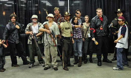 Walker Stalker Con 2014 at Donald E. Stephens Convention Center on March 14–16 (Up to 53% Off)
