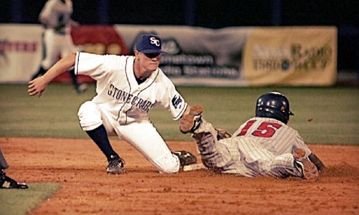 Charlotte Stone Crabs - Port Charlotte: Charlotte Stone Crabs Home Baseball Game for 2, 4, or Up to 12 at Charlotte Sports Park (Up to 55% Off)
