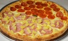 Zesty Zzeeks Pizza & Wings - Mill and Southern: $17 for $25 Worth of Pizza at Zesty Zzeeks Pizza & Wings