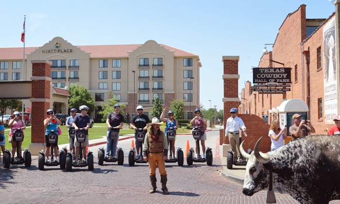 Segway Fort Worth - West 7th & Trinity Trails Tour: Fort Worth Stockyards Segway Tour for Two from Segway Fort Worth (Up to 24% Off)