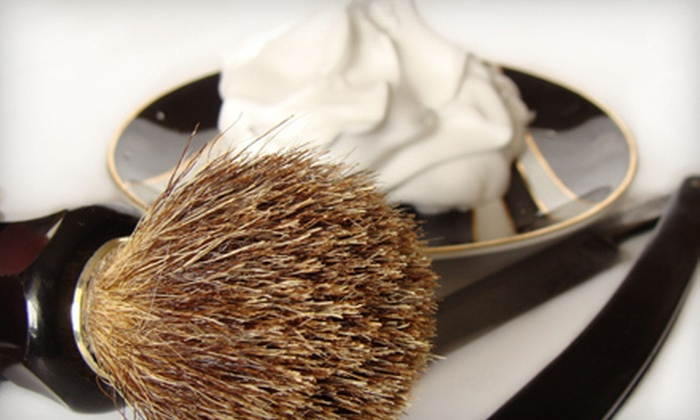The Brighton Shave Co. - Golden Triangle,Century City,Westside Village: $50 Worth of Barbershop Shaves and Haircuts