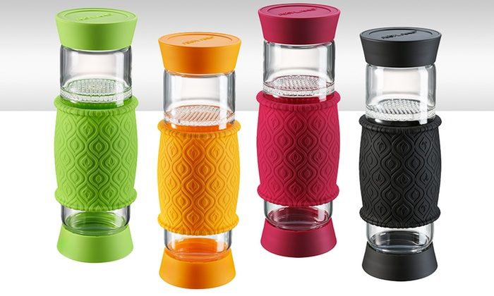 Artland Glass T2Go Infuser Bottle: Artland Glass T2Go Infuser Bottle. Multiple Colors Available. Free Shipping and Returns.