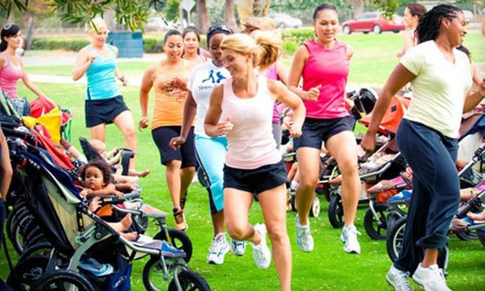 Stroller Strides - Pearland: 5 or 10 Postnatal Stroller Strides or Prenatal Fit4Baby Fitness Classes at Stroller Strides in Pearland (Up to 67% Off)