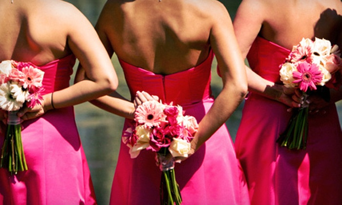 Golden Mobile Spray Tan - Fairfield County: Spray Tans for Three Bridesmaids, Bride, or Bride and Groom from Golden Mobile Spray Tan in Fairfield (Up to 61% Off)
