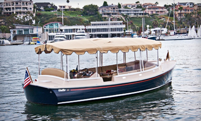 Vantage Yacht Club - Old Naples: Two-Hour Weekday or Weekend Electric-Boat Rental for Up to 10 from Vantage Yacht Club (Up to 67% Off)