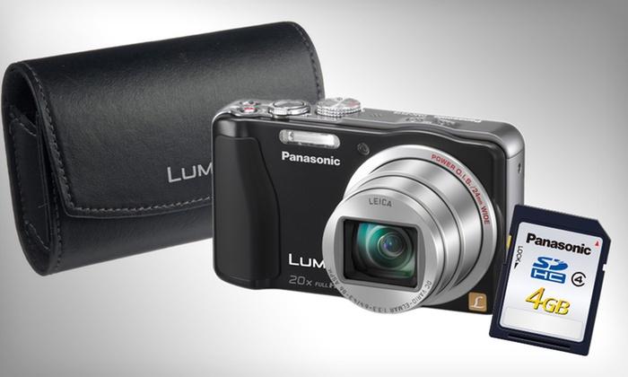 Panasonic 14.1MP Digital Camera Bundle: $129.99 for Panasonic Digital Camera Bundle (Manufacturer Refurbished) ($299.99 List Price). Free Shipping and Returns.