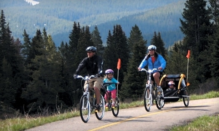 Pioneer Sports - Frisco: 24-Hour Bike Rental for One, Two, or Four from Pioneer Sports in Frisco (Up to 61% Off)