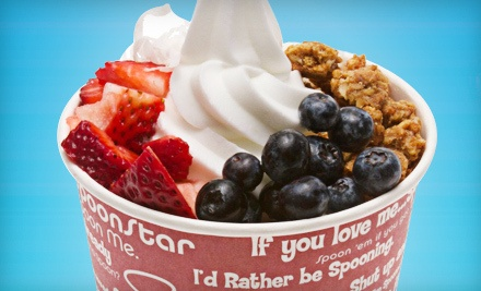 Two Frozen Yogurts with Two Toppings Each (a $12 value)   - Spoon Me in Winnipeg