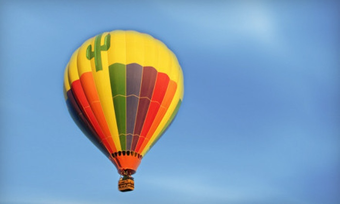 Southern AZ Balloons - Tucson: Hot Air Balloon Ride for One, Two, or Four with Champagne Brunch from Southern AZ Balloons (Up to 39% Off)