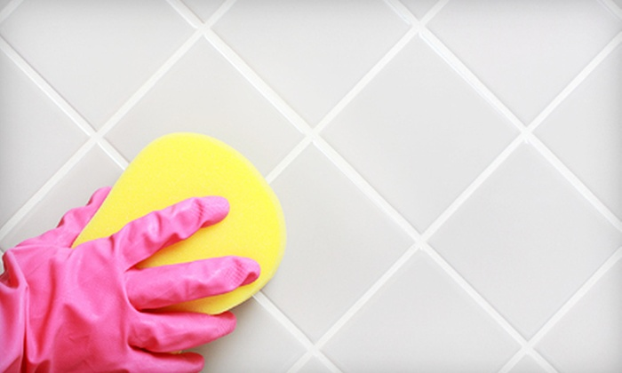 Go Green Carpet Cleaning - Fort Worth: Tile and Grout Cleaning from Go Green Carpet Cleaning (Up to 67% Off). Two Options Available.