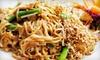 Bangkok Cuisine - Multiple Locations: $10 for $20 Worth of Thai Food at Bangkok Cuisine