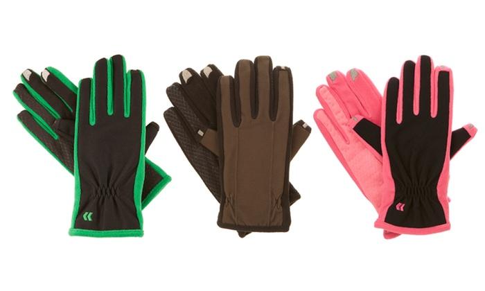 Men's and Women's Isotoner smarTouch Fleece-Lined Gloves: Men's and Women's Isotoner smarTouch 2.0 Tech Stretch Fleece-Lined Gloves. Multiple Styles Available.