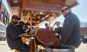 Chattanooga Brew Choo: $25 for a BYOB Chattanooga Pedal Bar Ride for Two from Chattanooga Brew Choo ($50 Value)