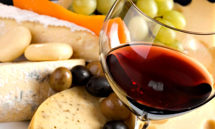 Cape May Winery - Lower: Winery Tour for Two or Four with Tasting, Cheese Tray, and Souvenir Glasses at Cape May Winery (Up to 49% Off)