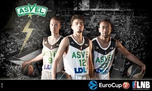 ASVEL Basket: 2 ou 4 places pour assister au match de basket de l'Asvel vs Reggio Emilia/Limoges/Hyères-Toulon/Unics Kazan dès 15 €