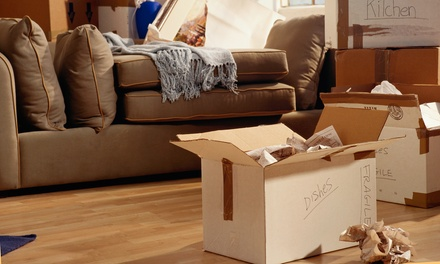 Two or Three Hours of Moving Services from KB Moving & Delivery Service (Up to 65% Off)