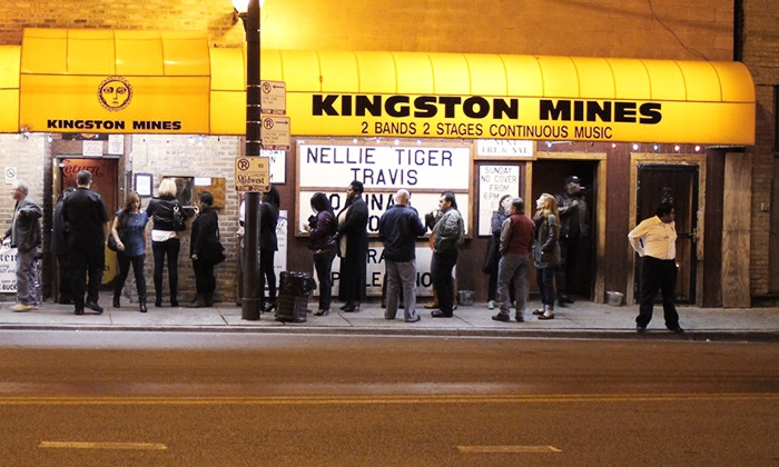 Kingston Mines - Lincoln Park: Blues Concert for Two at Kingston Mines (Up to 42% Off).