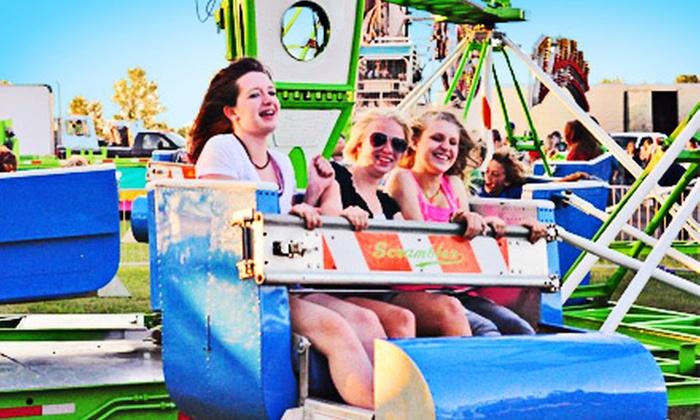 The Thomas Carnival  - Sunset Valley: Carnival Package for One, Two, or Four with Rides, Games, and Snacks at The Thomas Carnival at Tony Burger Center (Half Off)