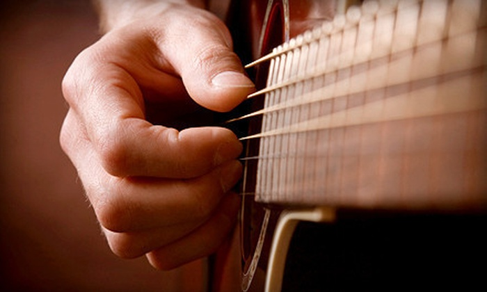 Will Ripley Guitar School - Mt. Pleasant: Yamaha Acoustic Guitar with Four Guitar Lessons or Two or Four Guitar Lessons at Will Ripley Guitar School (Half Off)