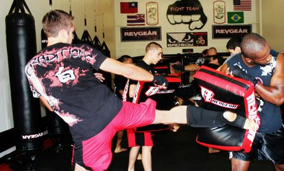 $9.25 for 5 Cardio <strong>Kickboxing</strong> or Conditioning Classes at Fight Team, LLC ($49.95 Value)