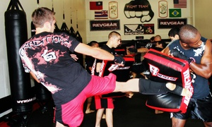 Fight Team, LLC: $8 for 5 Cardio Kickboxing or Conditioning Classes at Fight Team, LLC ($49.95 Value)