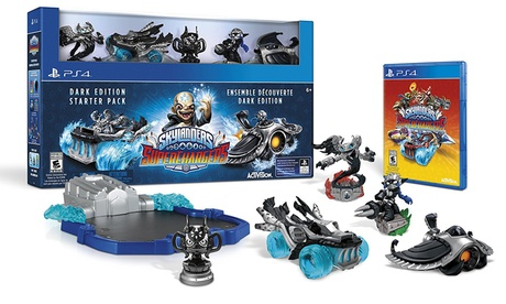Skylanders SuperChargers Dark Edition Starter Pack for PlayStation 4 3122e98e-3925-11e8-b3d2-00259060b5da