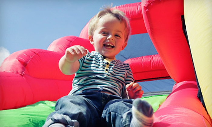 Bounce Ninja - Omaha: $65 for a Five-Hour Inflatable Bounce-House Rental from Bounce Ninja ($130 Value)