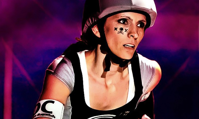 L.A. Derby Dolls Roller Derby - The Doll Factory: LA Derby Dolls Bout on Saturday, November 22 or Saturday, December 6 at The Doll Factory (Up to 52% Off)